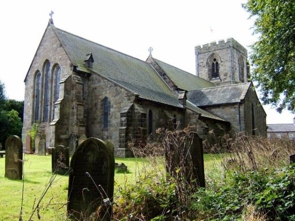 All Saints at Rothbury