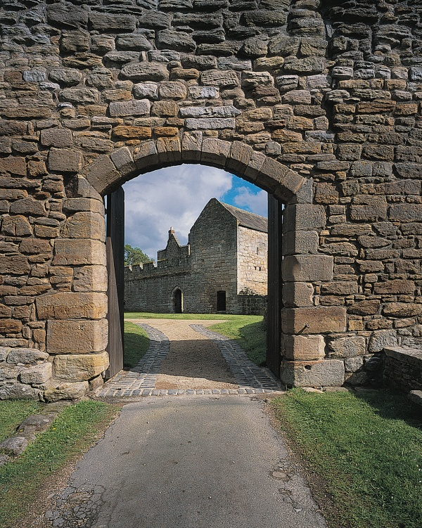 Gateway to Aydon Castle