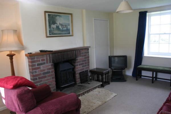 Lounge at Bowont Cottage