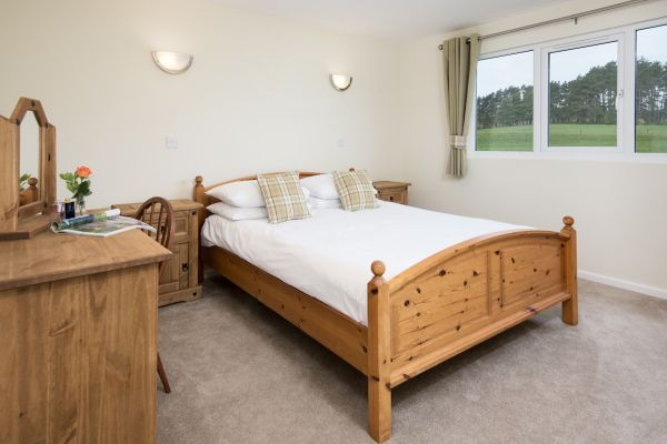 King bedroom in Cheviot