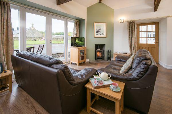 West Lodge living room