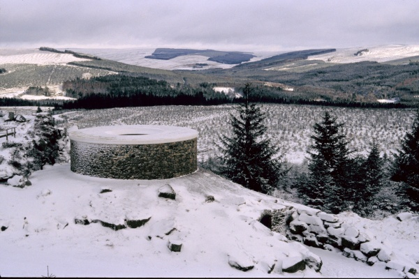 Kielder in the Snow