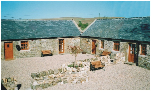 External courtyard & Cottages