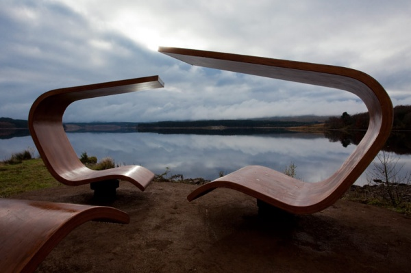 Janus Chairs at Kielder Water