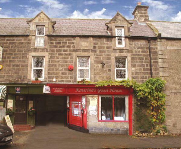 Part of an old coaching Inn