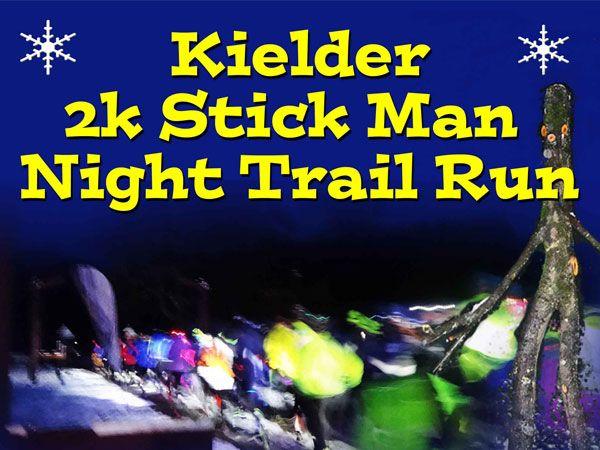 Kielder Forest Stick Man Trail Family Fun Run.