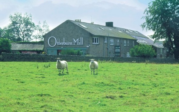 Outside Otterburn Mill