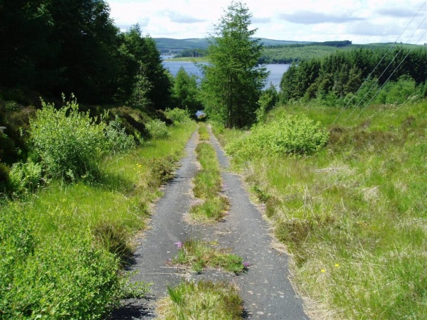 Plashetts Incline Viewpoint in Kielder