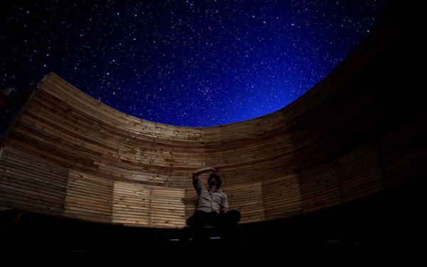 Stargazing event in Kielder Water