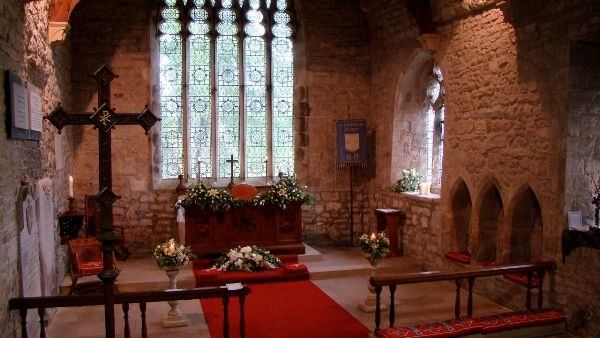 The Sanctuary at St Cuthbert's
