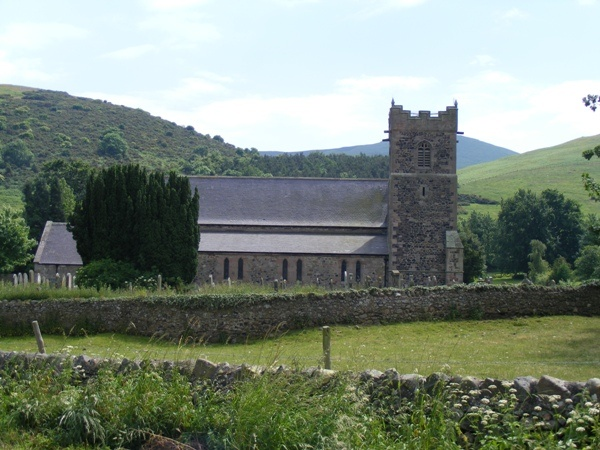St Gregory's against the landscape