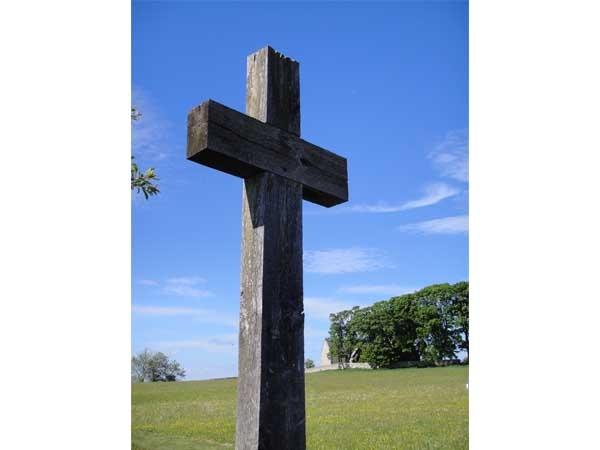 Churchyard at Heavenfield