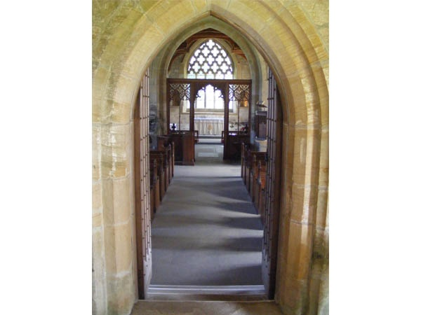 Interior Arch at St Wilfrids