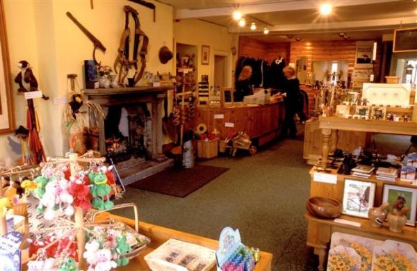 Kielder Castle shop