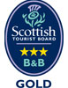 Visit Scotland Three Star Gold