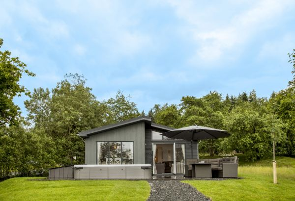 Win a stay in a luxury lodge at Kielder Waterside