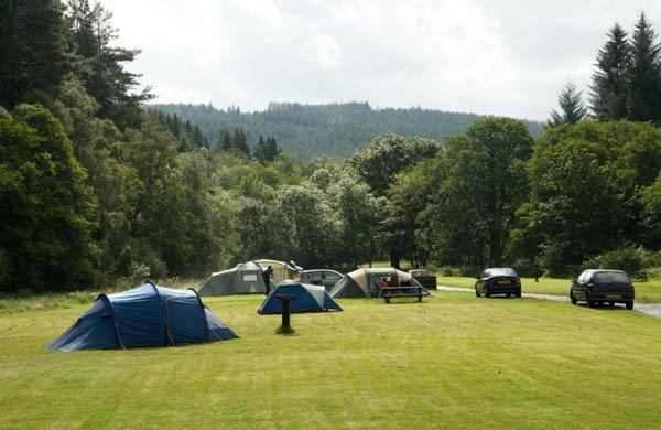Camping In Kielder Kielder Water And Forest Park