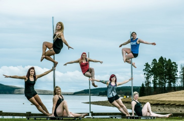 Pole dancing team to enter Kielder Marathon weekend