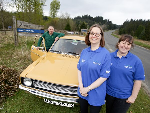 Kielder Vintage and Classic Vehicle Show takes a wild twist