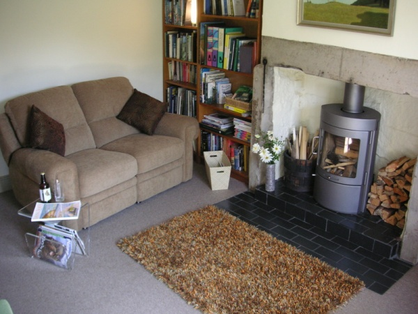 Lounge at Allenmill Cottages
