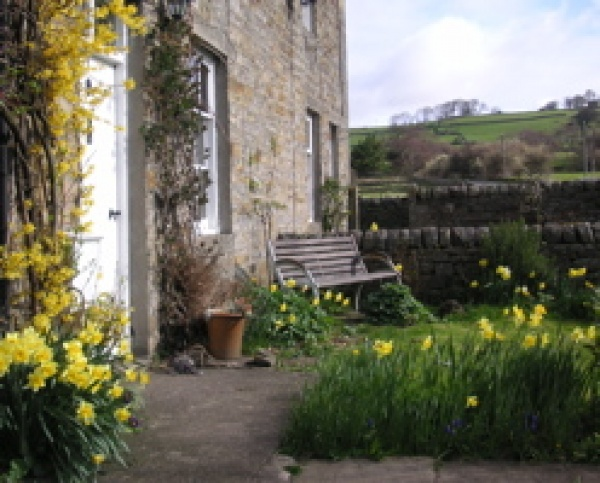 Outside Allenmill Cottages
