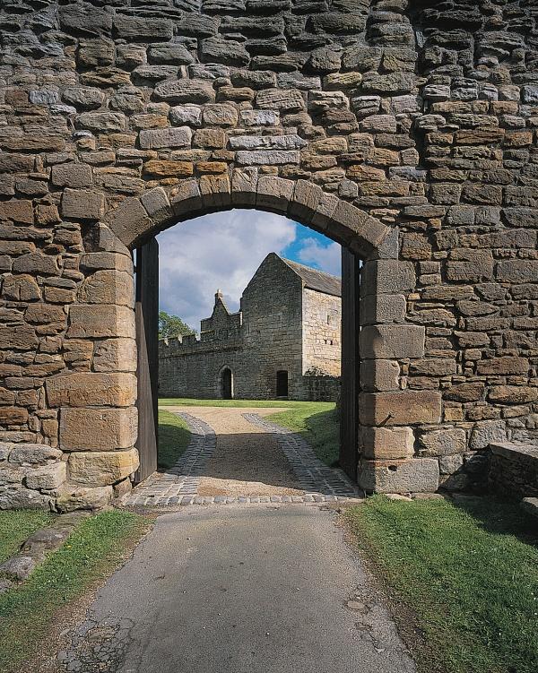 Gateway to Aydon Castle
