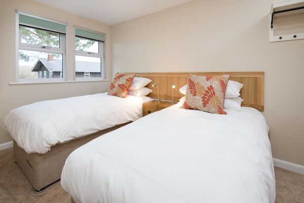 Rooms can be configured as double or twin
