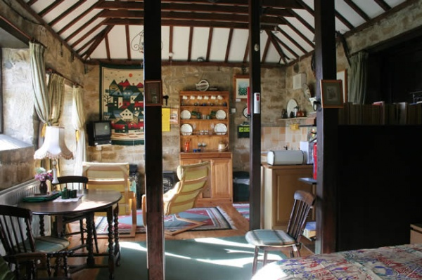 Inside Coastguard Cottage