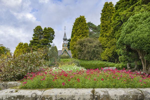 Experience the change in seasons at the Formal Garden