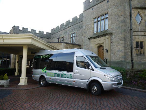 Minibus Taxi Wedding Northumbe