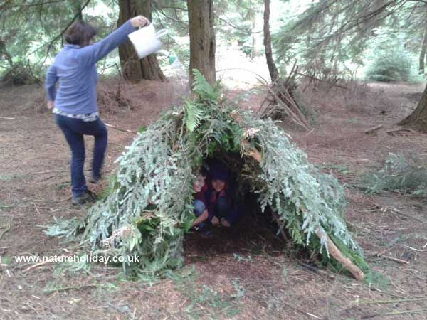 Family Bushcrafts Survival Challenge