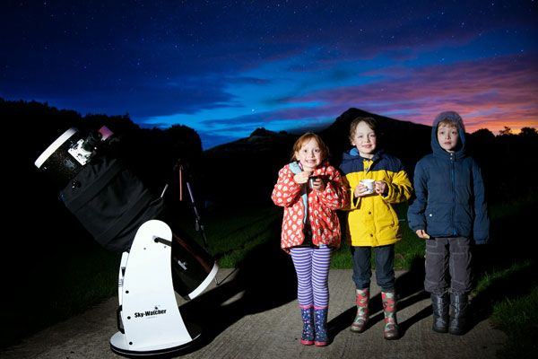 Family Dark Sky Stargazing @Kielder Castle