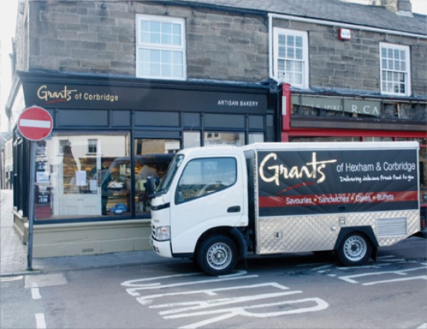 Grants Bakery van