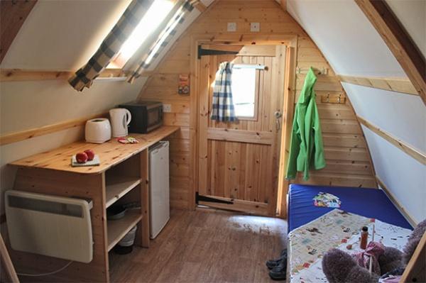 Wigwam Cabin Interior