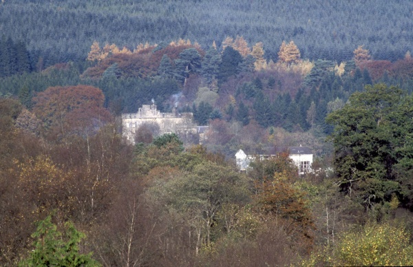 Kielder Castle from Viaduct