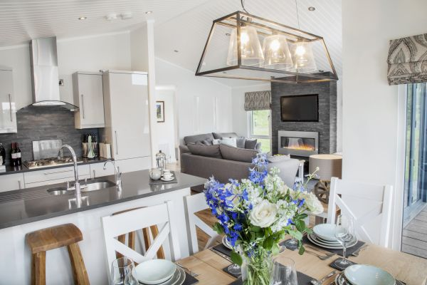 Luxury Lodges on site