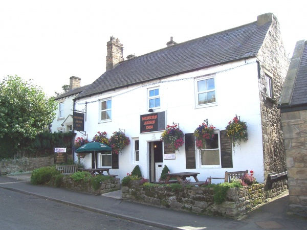 Outside Miners Arms Inn
