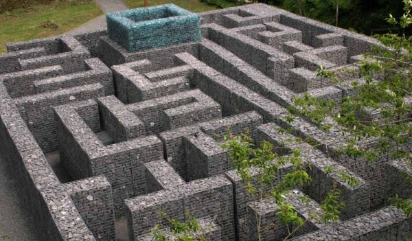 Minotaur Maze at Kielder Water