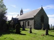 Sunny day at St Oswalds Church