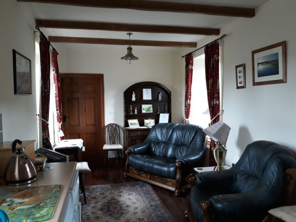 Living Room at Station Cottage