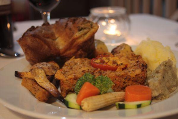 Vegetarian Sunday Lunch