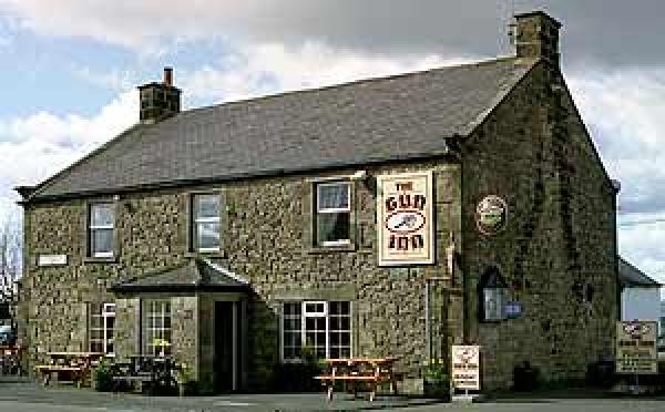 Outside The Gun Inn