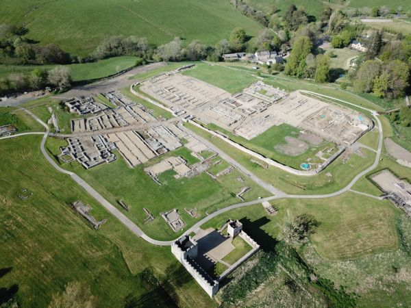 Vindolanda from the air