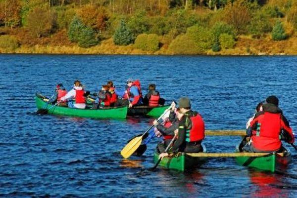 Canoe rafts
