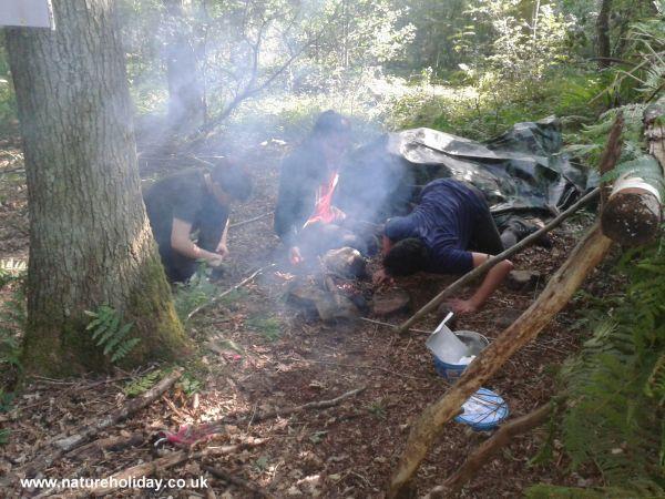 Wilderness Survival Challenge 8 to 13s