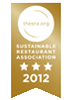 Sustainable Restaurant Association 3 stars 2012