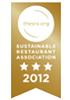 Sustainable Restaurant Association 3 stars 2012