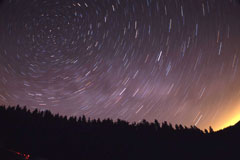 Dark skies at Kielder