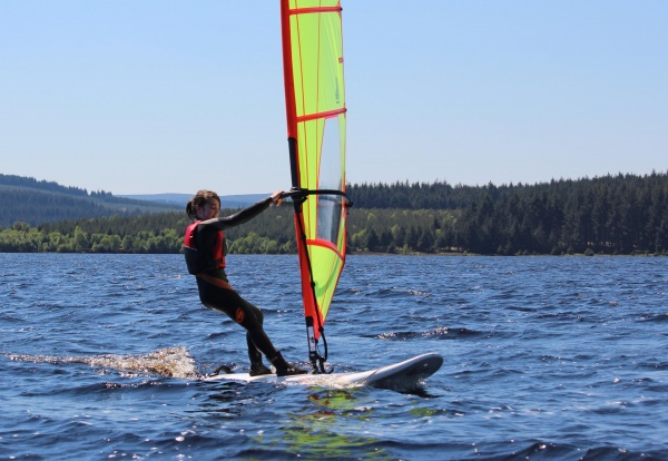 Kielder sailors and windsurfers push the boat out