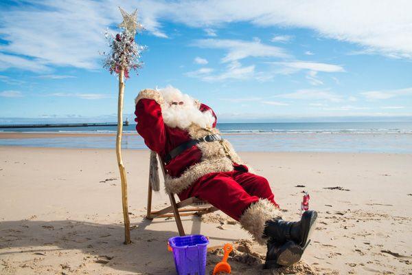 Santa takes a ho-ho-holiday before Kielder Winter Wonderland